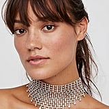 Free People Heartbreakers Crystal Mesh Choker