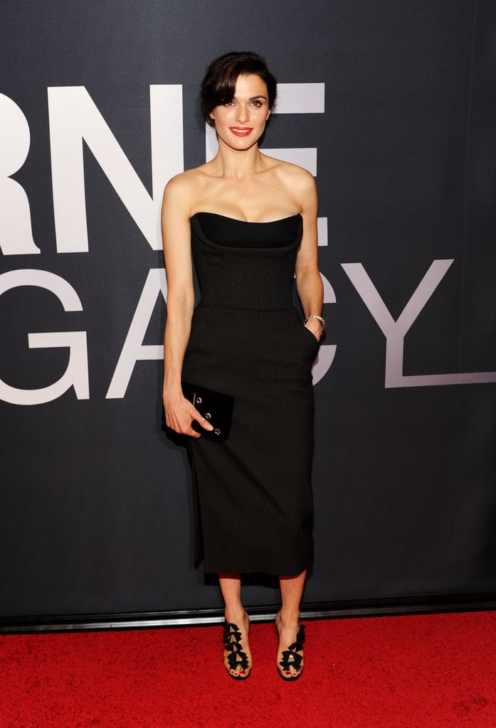Rachel Weisz stepped onto the red carpet in Dior at the world premiere of The Bourne Legacy in NYC.
