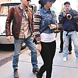 Katy Perry and John Mayer grabbed lunch together.