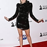 Miley Cyrus Black Dress For Dolly Parton Tribute 2019