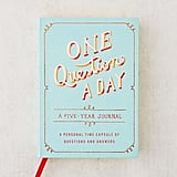 One Question a Day: A Five-Year Journal ($12)