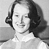 Even as a teen, it's the same Meryl. Source: Seth Poppel/Yearbook Library