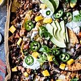 Black Bean Turkey Nachos With Jalapeño Yogurt