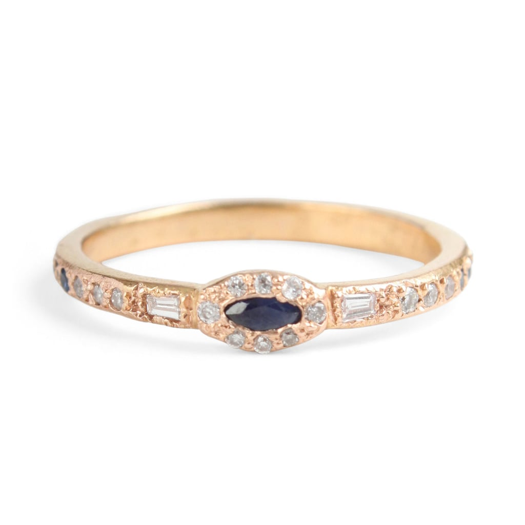 Anastasia Marquise Sapphire Ring