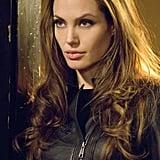 Angelina was drop-dead gorgeous in 2008's Wanted.