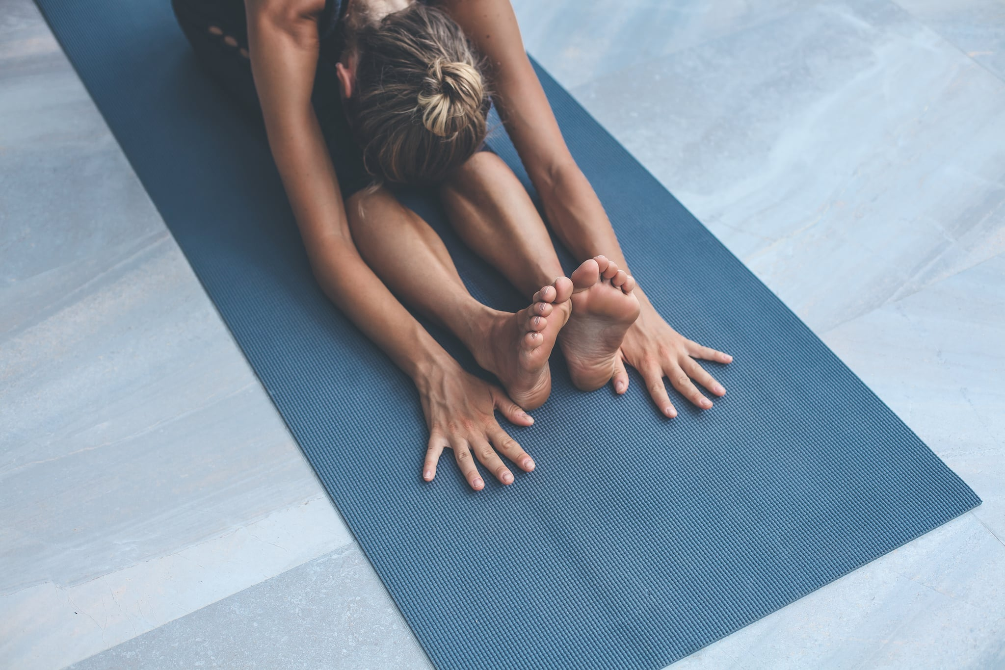Yoga exercises at home
