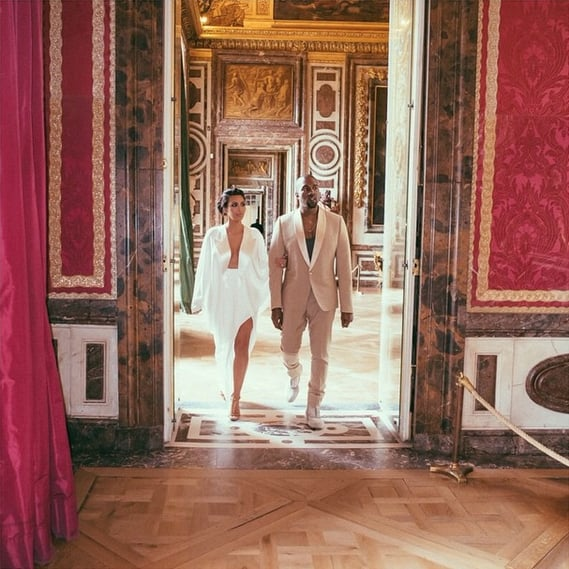 1 Year Later, Kim Kardashian Shares All the Amazing Fashion From Her Wedding