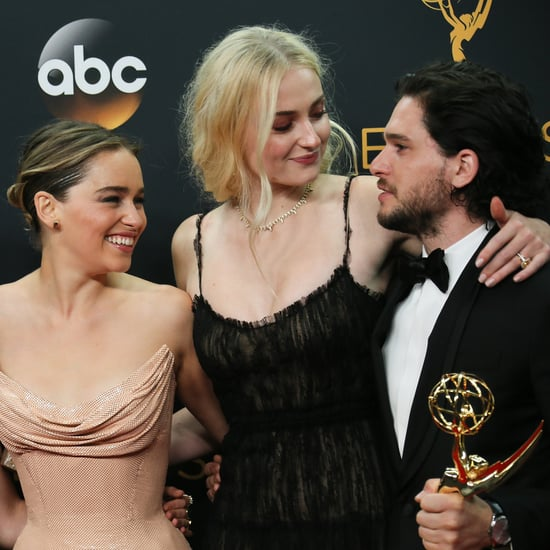 Celebrities With Kit Harington at the 2016 Emmys
