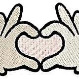 Jules Kae Heart Hands Patch