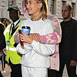 Hailey Bieber With Justin Bieber in London