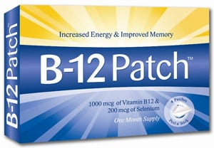 What's the Deal With the Vitamin B12 Patch?