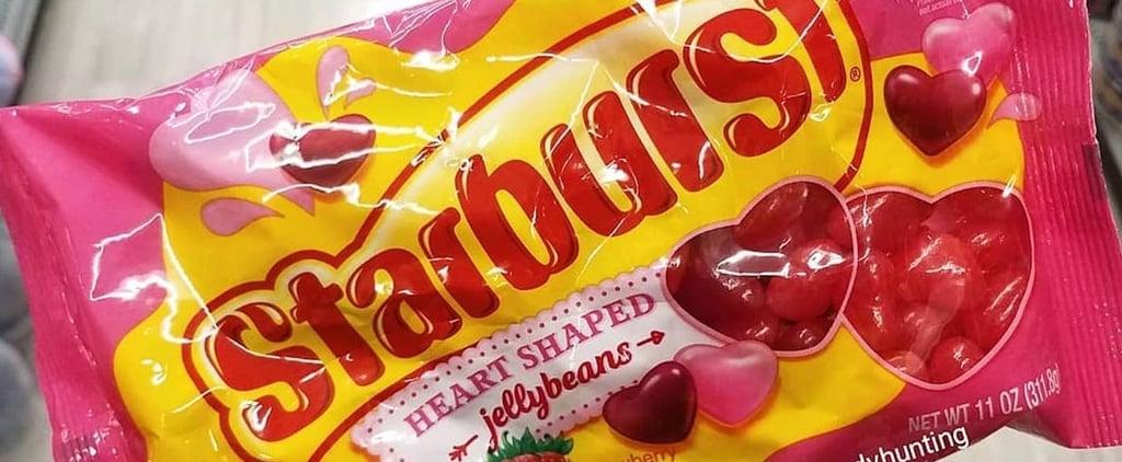 Starburst Heart-Shaped Jellybeans