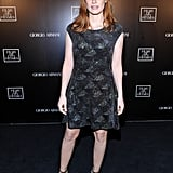 Jessica Chastain With Blunt Bangs in 2014