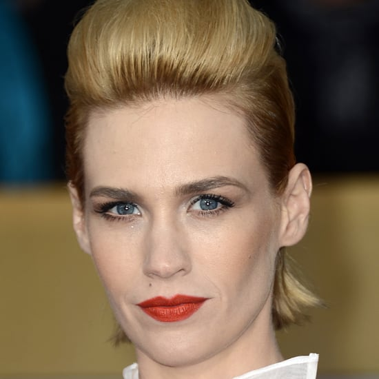 January Jones: SAG Awards Hair 2013