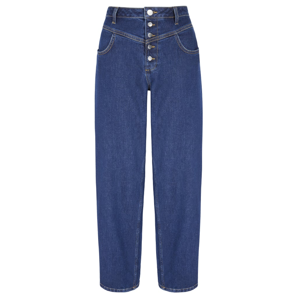 V by Very High Waist Barrel Leg Jean