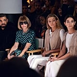 Gigi sat front row at Serena Williams's HSN show alongside Drake, Anna Wintour, and Lily Aldridge, proving that sometimes supermodels ditch the runway to enjoy a show, too.