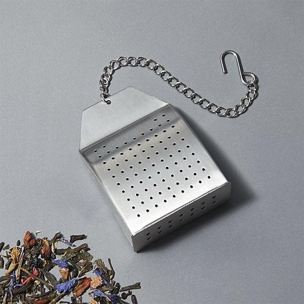 Crate & Barrel Tea Bag Shaped Tea Infuser