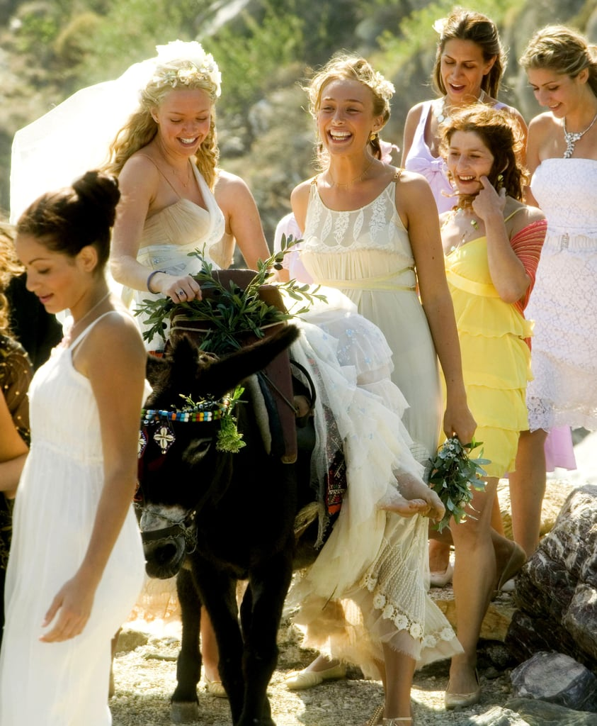 amanda 39 s wedding dress as sophie in mamma mia 2008