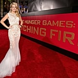 Stephanie Leigh Schlund aka Cashmere made a glamorous turn on the red carpet.