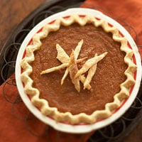 Pumpkin Chess Pie Recipe