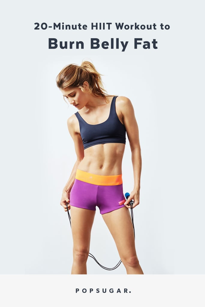 HIIT Workout to Lose Belly Fat | POPSUGAR Fitness