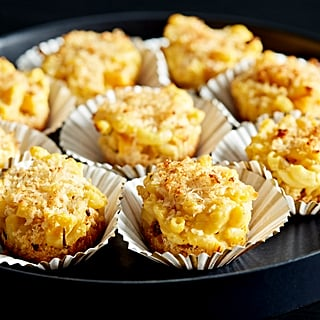 Pumpkin Macaroni and Cheese Muffins