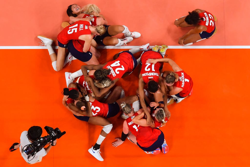 The US Women's Volleyball Team Wins Their First Olympic Gold