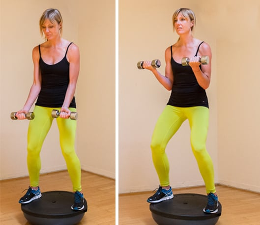 How To Work A Bosu Ball From Top To Toe Popsugar Fitness