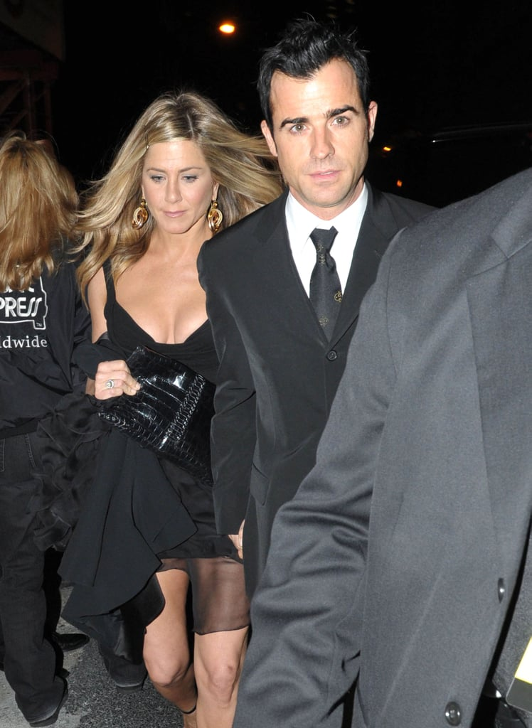 They arrived at NYC's Museum of Modern Art in November 2011 holding hands.