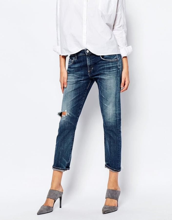 A Gold E 'Isabel' Slim Cropped Boyfriend Jeans ($290)