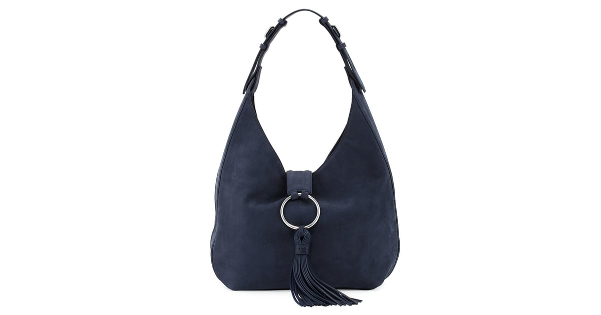 622994973ff9 Tory Burch Suede Tassel Hobo Bag, True Navy ($595) | Fall 2016 Bag Trends |  POPSUGAR Fashion Photo 29