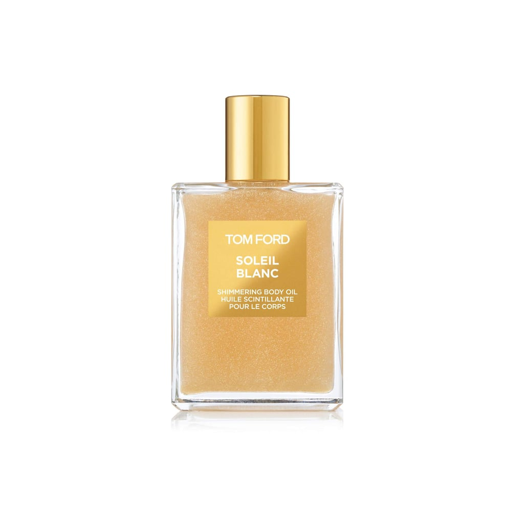 """""""Just because it's Winter doesn't mean you can't have that beachy skin vibe (after all, I am from LA). This is a great gift for friends *cough* me *cough*.""""     Tom Ford Soliel Blanc Shimmering Oil  ($98)"""
