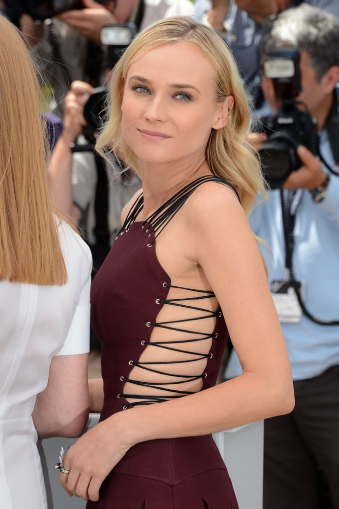 Diane Kruger got together with other jury members in Cannes for a photocall.