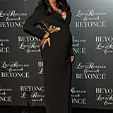 Pregnant Beyoncé Knowles Debuts Her DVD in a Sexy, Fitted Gown
