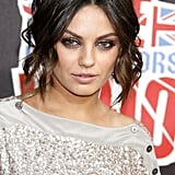 At the VH1 Rock Honors in 2008, Mila wore her hair in a kinky faux bob. Her big hazel eyes were framed by metallic-brown lids and long lashes.