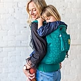 LilleBaby's CarryOn Emerald Embossed Carrier