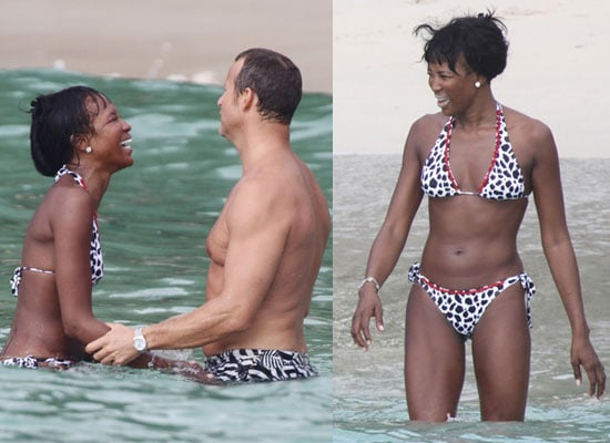 Photos of Naomi Campbell in Bikini With Vladisalv Doronin Sychronised Swimming With Kate Moss