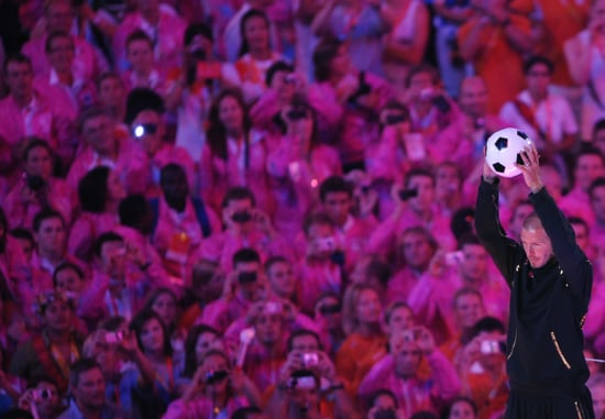 David Beckham and 7,000 Performers Say Cheerio to Beijing
