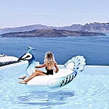 Floatie Kings Ride-On Peacock Pool Float