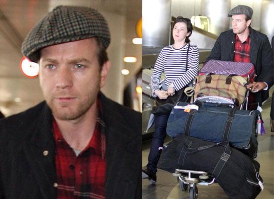 Photos of Ewan McGregor and Wife Eve at LAX, Ewan McGregor Talks About Roman Polanski,