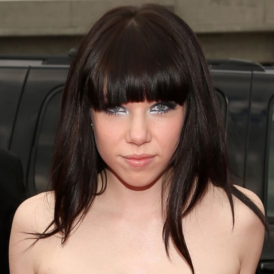 Pictures of Carly Rae Jepsen at the 2013 Grammy Awards
