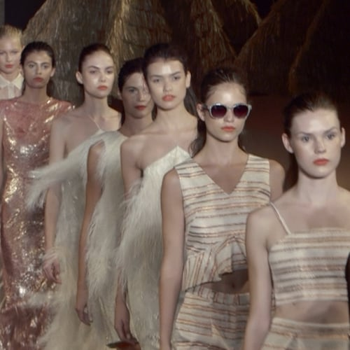 Christian Siriano Spring 2014 Fashion Week Interview | Video