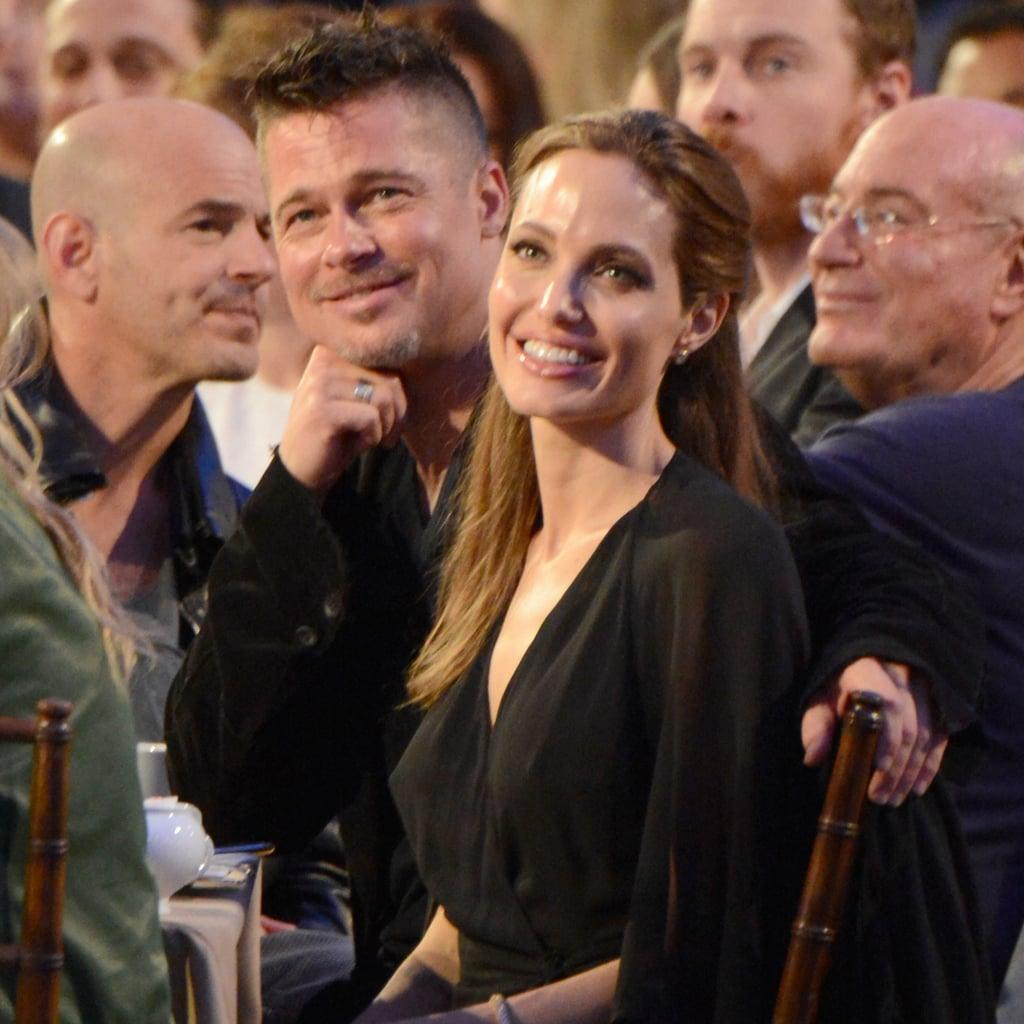 Brad Pitt and Angelina Jolie Award Season 2014
