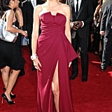 Heidi Klum in Christian Dior at the 2007 Emmy Awards