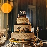 This wedding cake looks too unreal to eat.