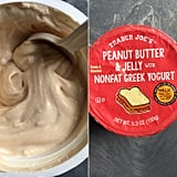 Peanut Butter and Jelly With Nonfat Greek Yogurt ($1)