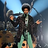 Prince performed during the 2013 Billboard Music Awards at the MGM Grand Garden Arena in Las Vegas.
