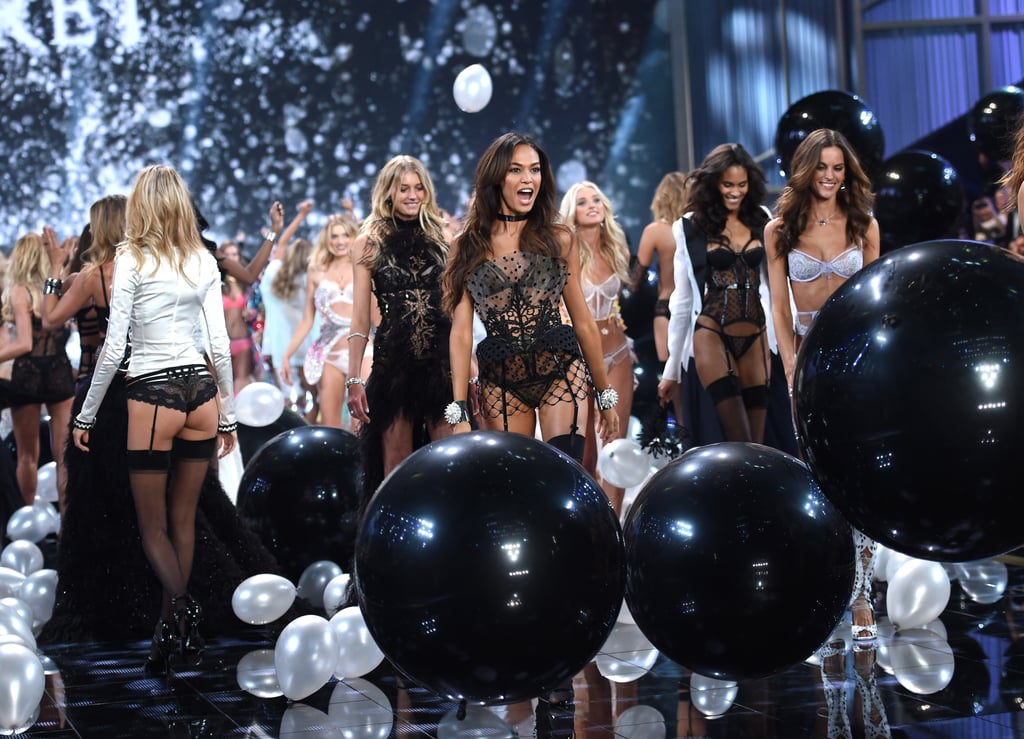 Models Walking in the Victoria's Secret Fashion Show 2015