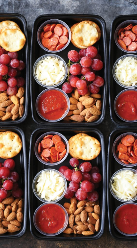 DIY Pizza Lunchables