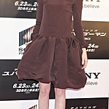 Emma Stone graced the red carpet at The Amazing Spider-Man premiere in Japan.